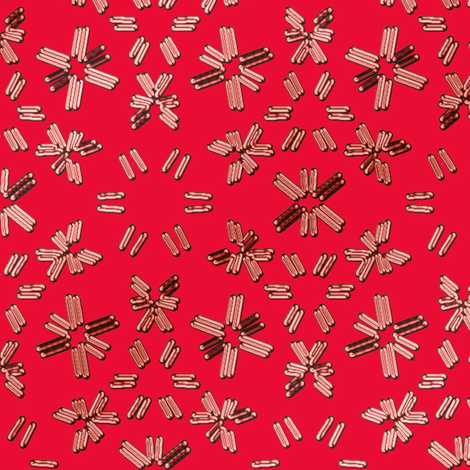 Sparkly Red Crystals fabric by eclectic_house on Spoonflower - custom fabric