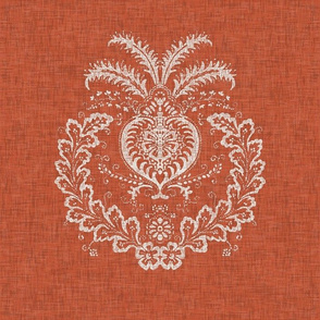 Antibes Batik Medallion in Spice