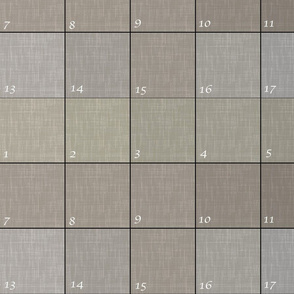 Gray samples for Danielle
