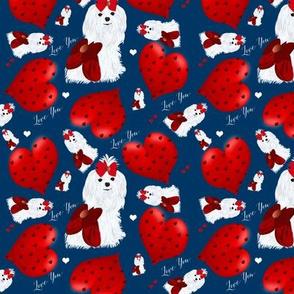 Maltese -  Hearts - Love You