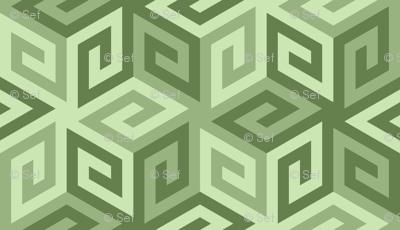 04935267 : greek cube : khaki limestone green