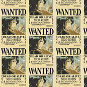 Robin's wanted poster from One Piece