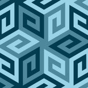 greek cube : sailing contest palette