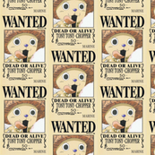 Chopper's wanted poster from One Piece