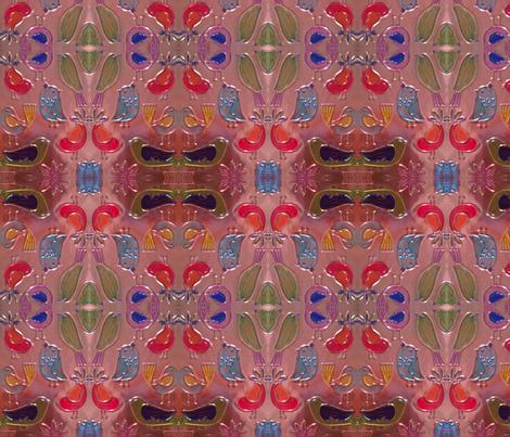 Little Birdies Everywhere fabric by flowerchildtrends on Spoonflower - custom fabric
