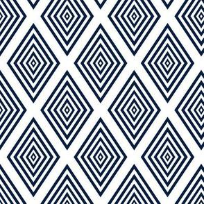 Diamond-pane window pattern geometric by Su_G