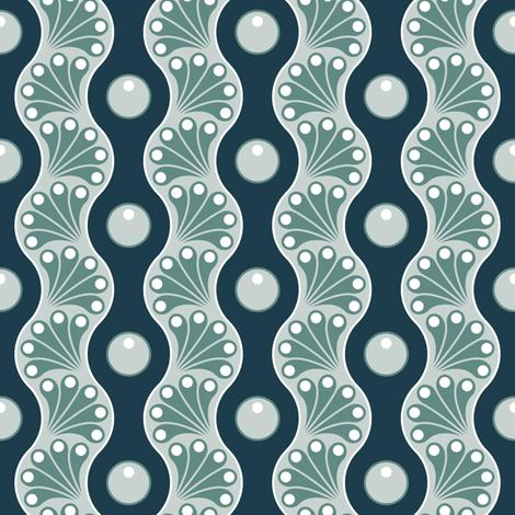 drop splash wavy stripe : skiing fabric by sef on Spoonflower - custom fabric