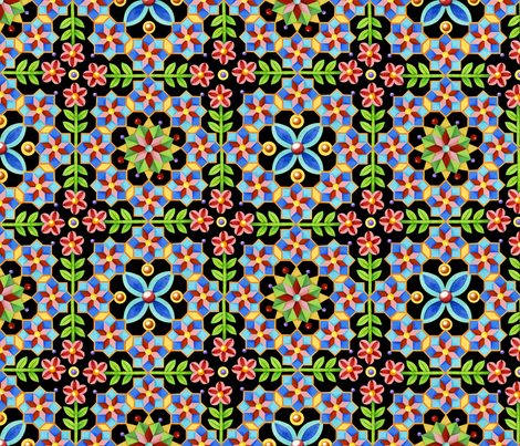 Gothic Revival Pattern fabric by patriciasheadesigns on Spoonflower - custom fabric