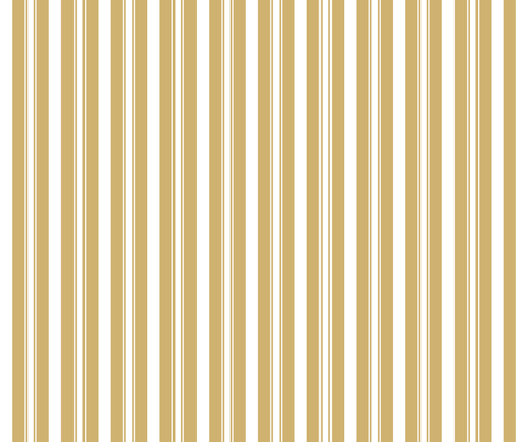 Khaki Beige Deckchair Stripes fabric by paper_and_frill on Spoonflower - custom fabric