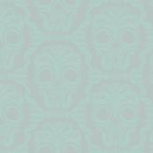 Scrollwork Skulls - blustery & steamy