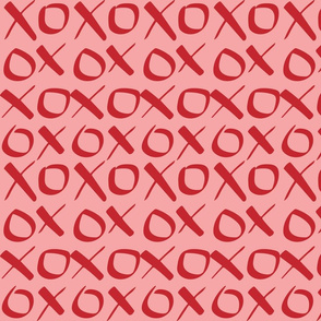 xoxo Red Pink