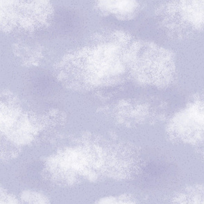 Lavender Cloudy Sky