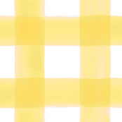Watercolor Gingham in Sunshine