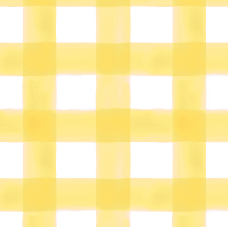 Watercolor Gingham in Sunshine fabric by willowlanetextiles on Spoonflower - custom fabric