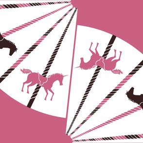 Vintage Pink Carousel Skirt Kit