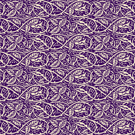 Kat's Brambles fabric by amyvail on Spoonflower - custom fabric