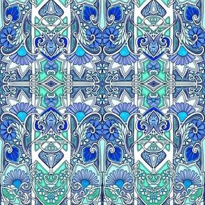 Victorian Garden Blues