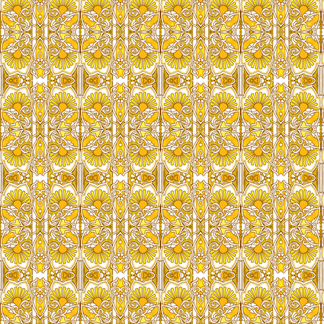 Day of the Daisy fabric by edsel2084 on Spoonflower - custom fabric