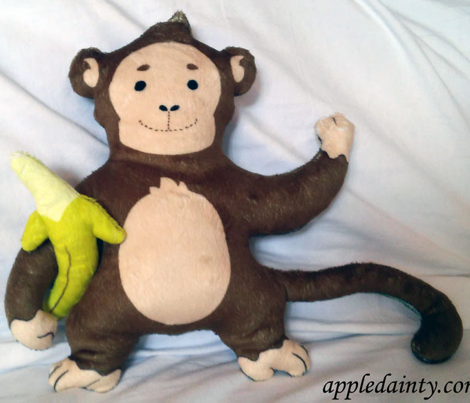 Funky Monkey Plushie - Small