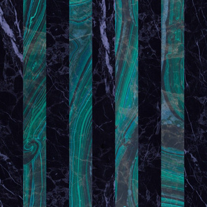 JEWELED STRIPE – NIGHT GARDEN