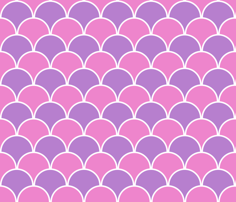 Pink and Purple fabric by mollywog2 on Spoonflower - custom fabric
