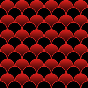Black and Red Gradient 1