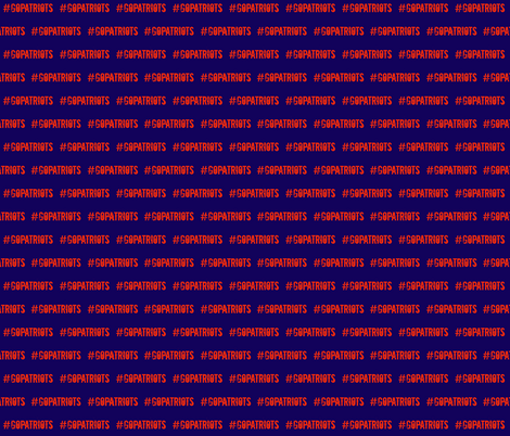 PATRIOTS fabric by knottybandsco on Spoonflower - custom fabric