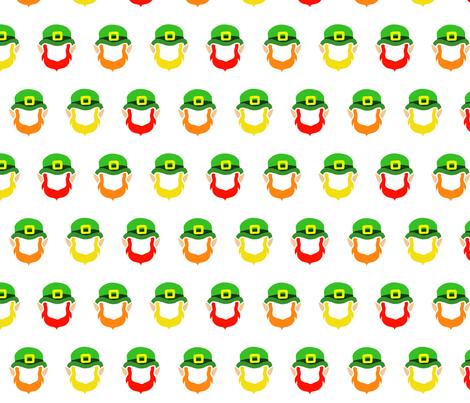 Rainbow Leprechauns fabric by blancamonroe on Spoonflower - custom fabric
