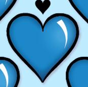 Blue Suede Hearts