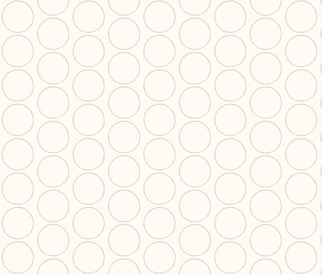 Circle in Pencil fabric by lilafrances on Spoonflower - custom fabric