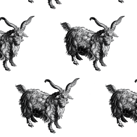 Numerable Goats fabric by amyvail on Spoonflower - custom fabric