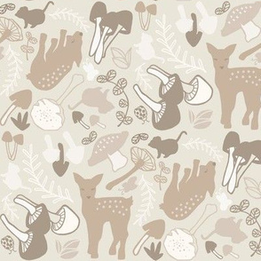 Flora and Fauna deer in neutral