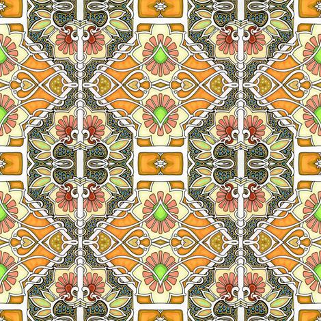Summer Cheer fabric by edsel2084 on Spoonflower - custom fabric