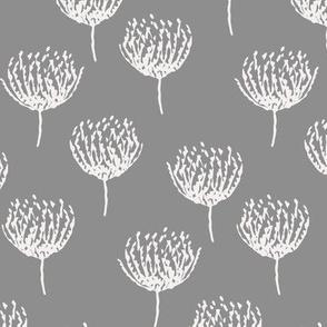 Dark Grey Bloom