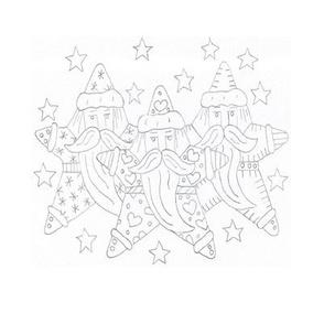 K Taylor Star Santa Swatch