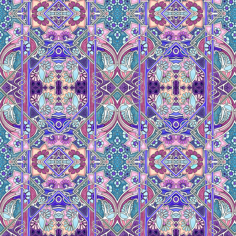The Queen Is Not Seeing Visitors Today fabric by edsel2084 on Spoonflower - custom fabric