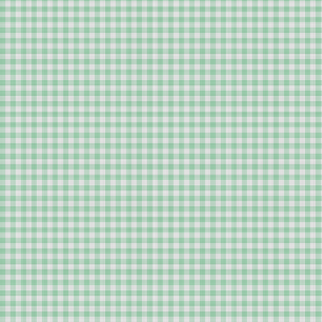 Light Green Gingham Check fabric by mollywog2 on Spoonflower - custom fabric
