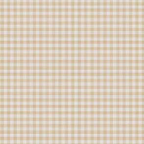 Peach Gingham Check