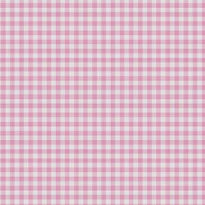 Pink Gingham Check