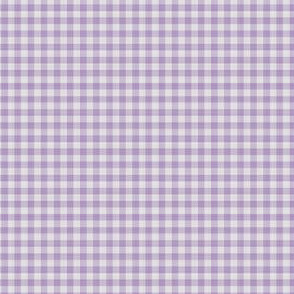 Purple Gingham Check