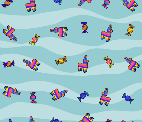 El Temor Del Burro fabric by s73obrien on Spoonflower - custom fabric