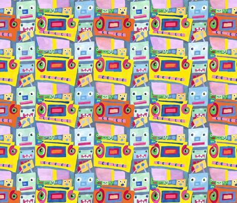 radio_21-ed fabric by swish-art on Spoonflower - custom fabric