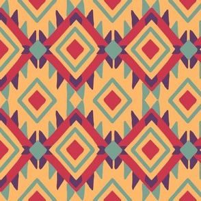 julie_lamb_aztec_diamond_ochre