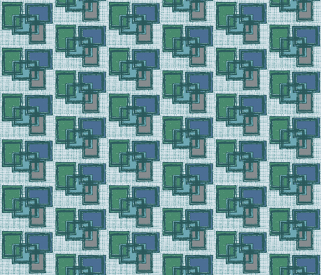 Mid century Boxes - Nordic fabric by hollywood_royalty on Spoonflower - custom fabric