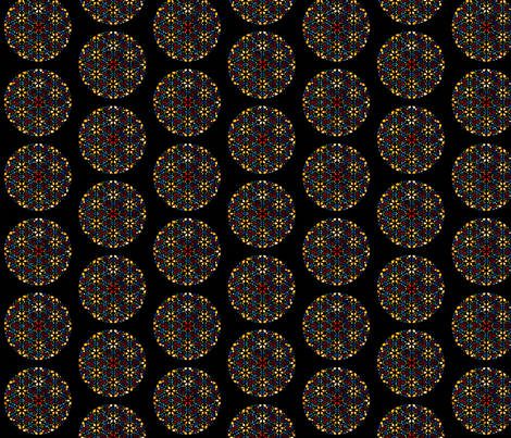 round-stained-glass1 fabric by enigmaticd on Spoonflower - custom fabric
