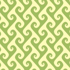 green tea tendrils