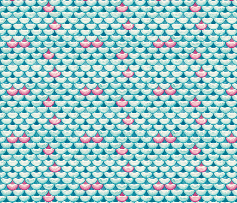 Song to the Siren fabric by timone on Spoonflower - custom fabric