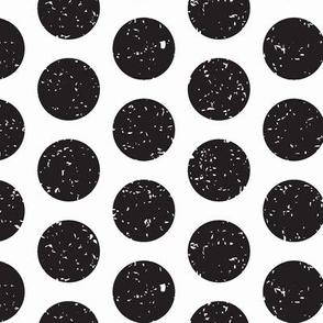 Black Polka Dots