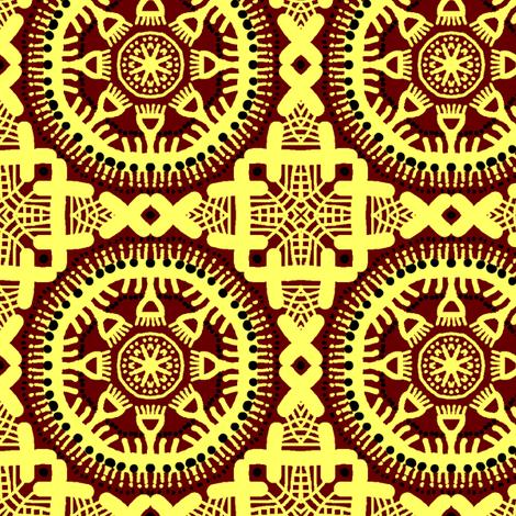 Deirdre fabric by tallulahdahling on Spoonflower - custom fabric
