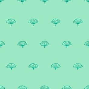 Fan Spot (double mint)